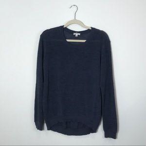 Wilfred | Navy Light Knit Sweater | Medium